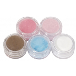 Colored Powder Deco set 4
