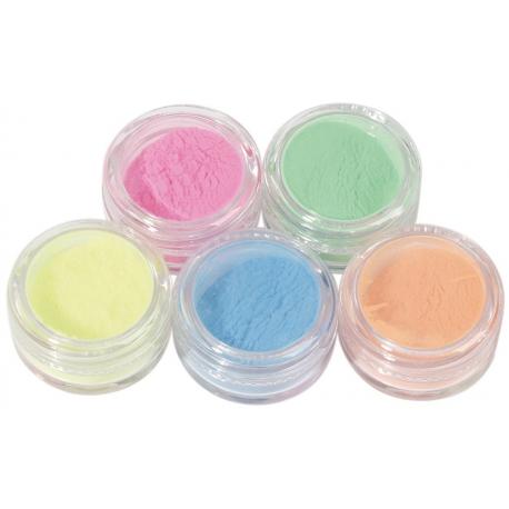 Colored Powder Deco set 6