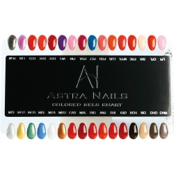 Coloured Gel Chart 2