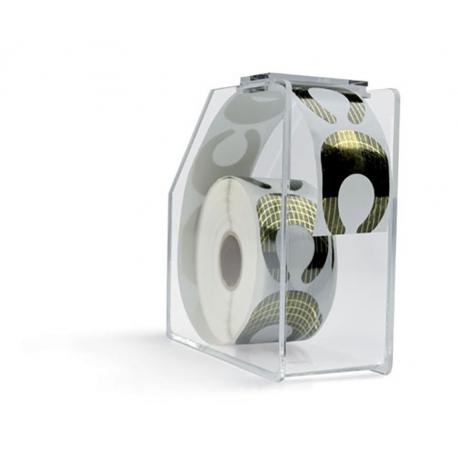 Dispenser For Nail Form Paper