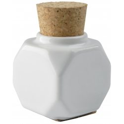 Porcelain Pot With Cork