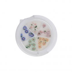 Ceramic Flower Case