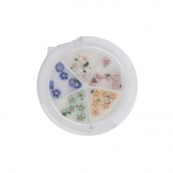 Ceramic Flower Case
