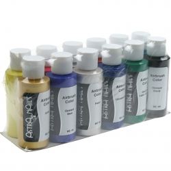 Air brush color set - 12pcs
