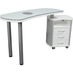 Astra Nail's Manicure Table - simple vented