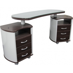 Astra Nail's Manicure Table - double