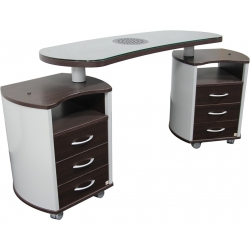 Astra Nail's Manicure Table - double vented