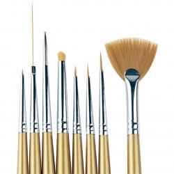 Brush Deco Kit - 8pcs