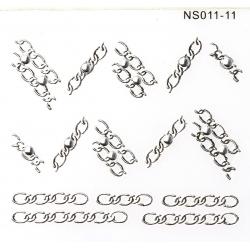 Metallic Sticker
