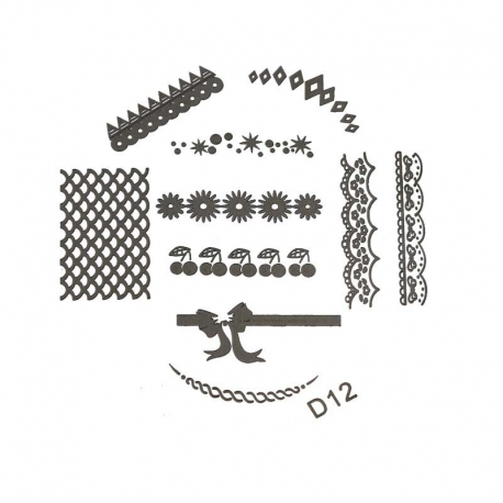 Stamping Plate - D12
