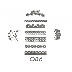 Stamping Plate - D06
