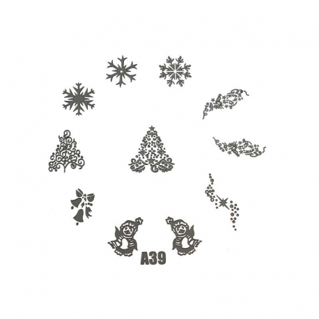 Stamping Plate XL - A39