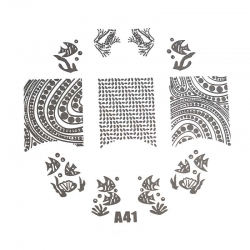 Stamping Plate XL - A41